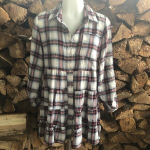 Free people flannel shirt 4